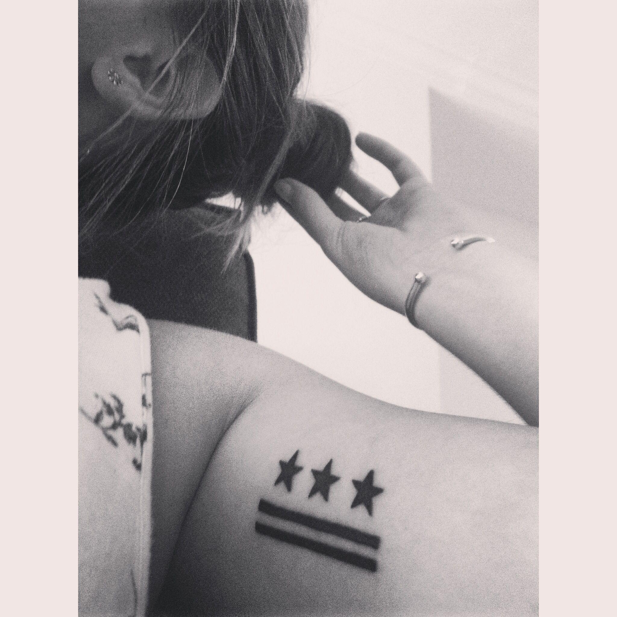 Tattoo Washington D C Flag Tattoos Dc Tattoo Tattoos Sleeve