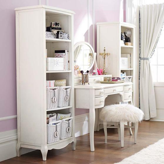 Lilac Desk & Hutch #pbteen