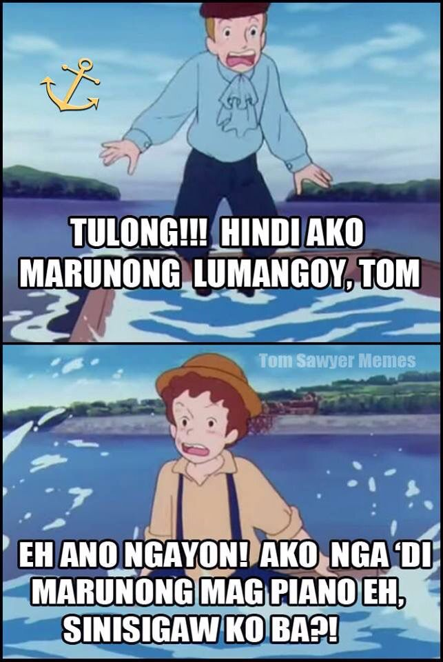 Funny Meme Questions Tagalog : Pin by herschel xd on tom sawyer meme pinterest pinoy