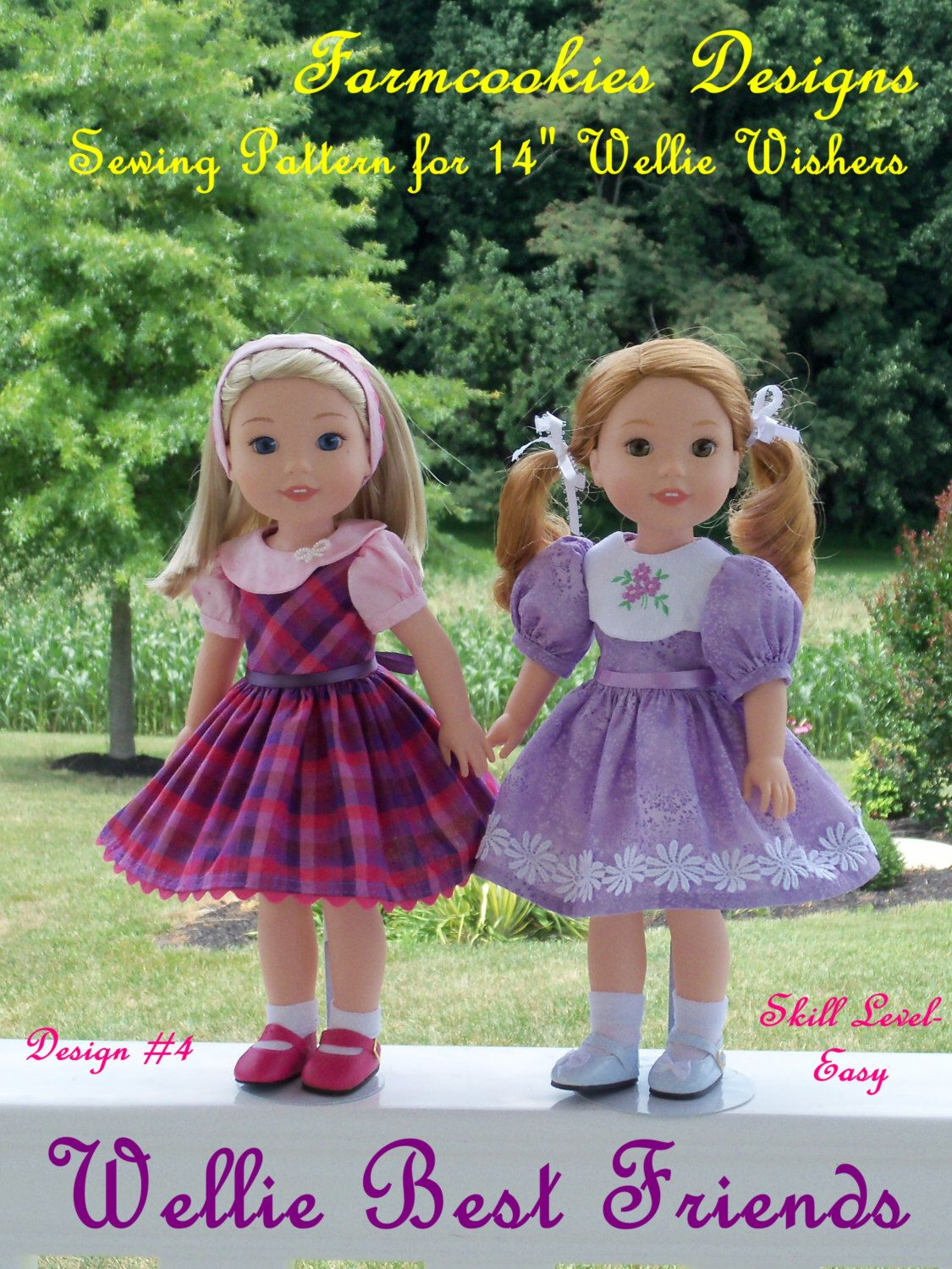 PDF Sewing Pattern: Wellie Best Friends/ Sewing Pattern for 14 ...