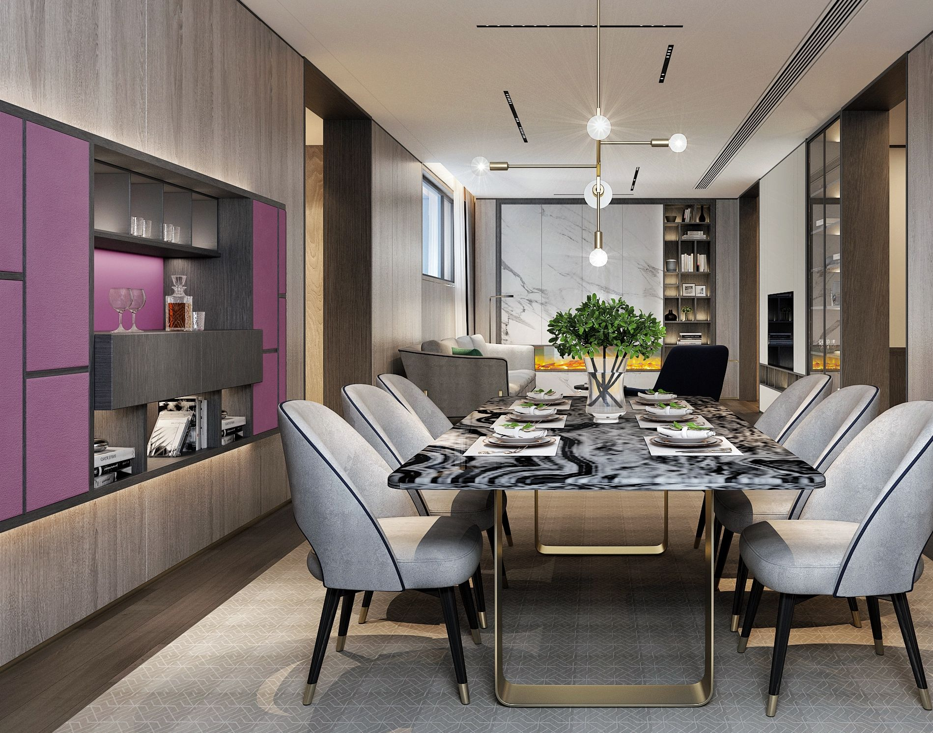 Pinsuyili On Diningroom  Pinterest  Dining Room And Dining Area Magnificent Contemporary Modern Living Room 2018