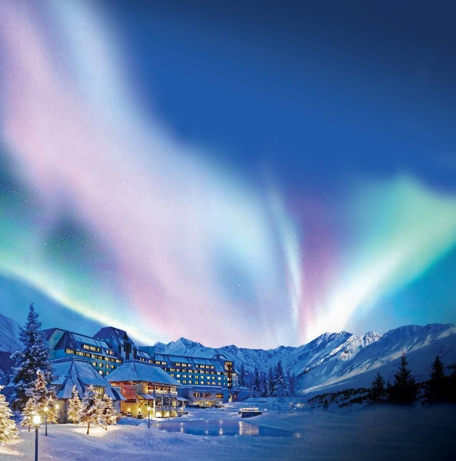 Hotel alyeska alaska in 2019 alaska aurora borealis