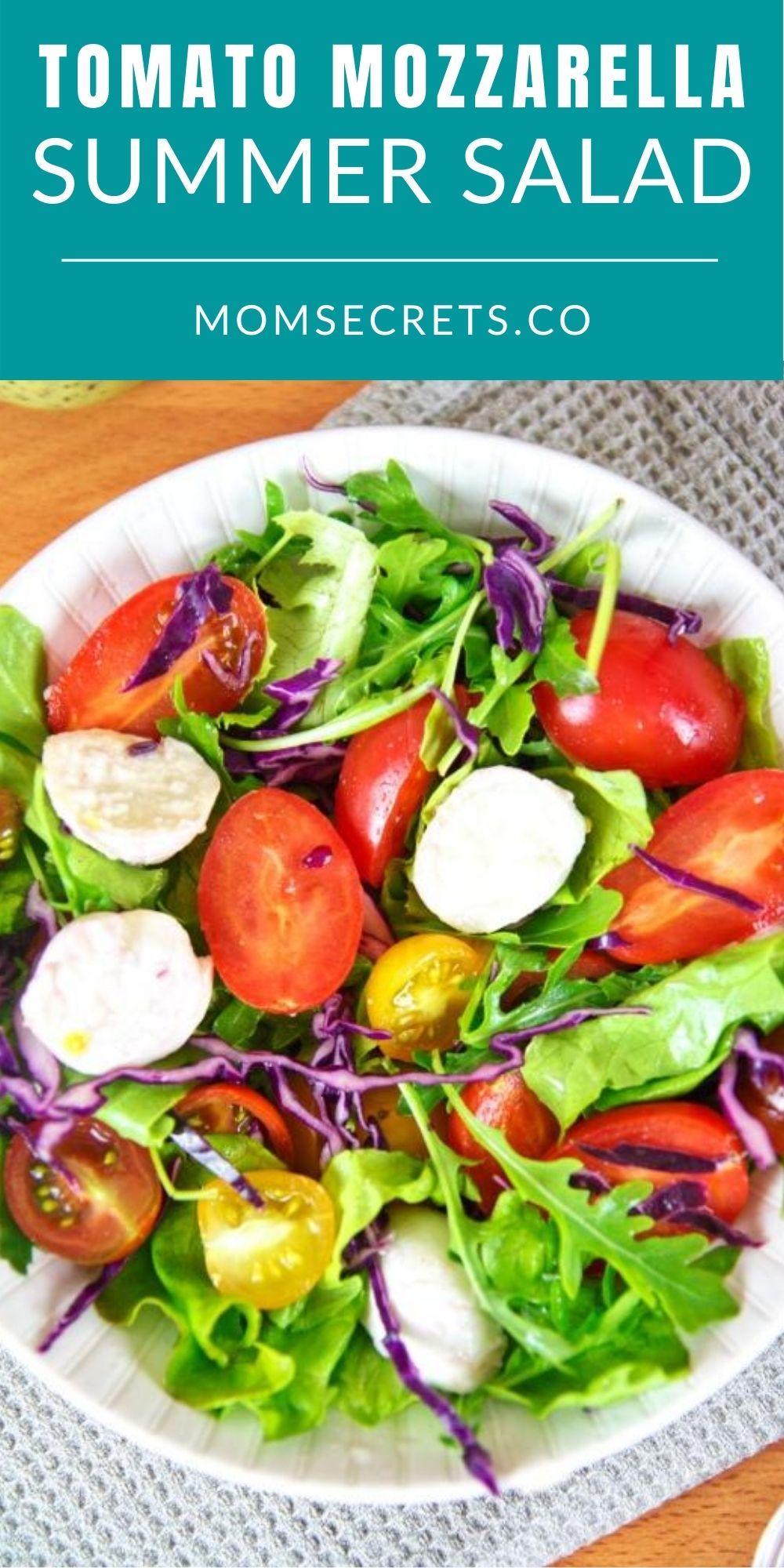 Best Summer Salad Recipe With Tomato Mozzarella And Arugula Recipe Salad Recipes Summer Salad Recipes Summer Salads [ 2000 x 1000 Pixel ]