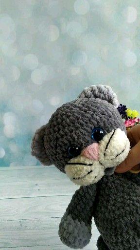 Photo of Crochet PATTERN kitten. Cat pattern. Kitten baby amigurumi toy / Amigurumi patterns / tutorial cat /