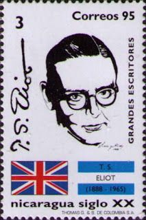 Literary Stamps: Eliot, T. S. (1888 - 1965)
