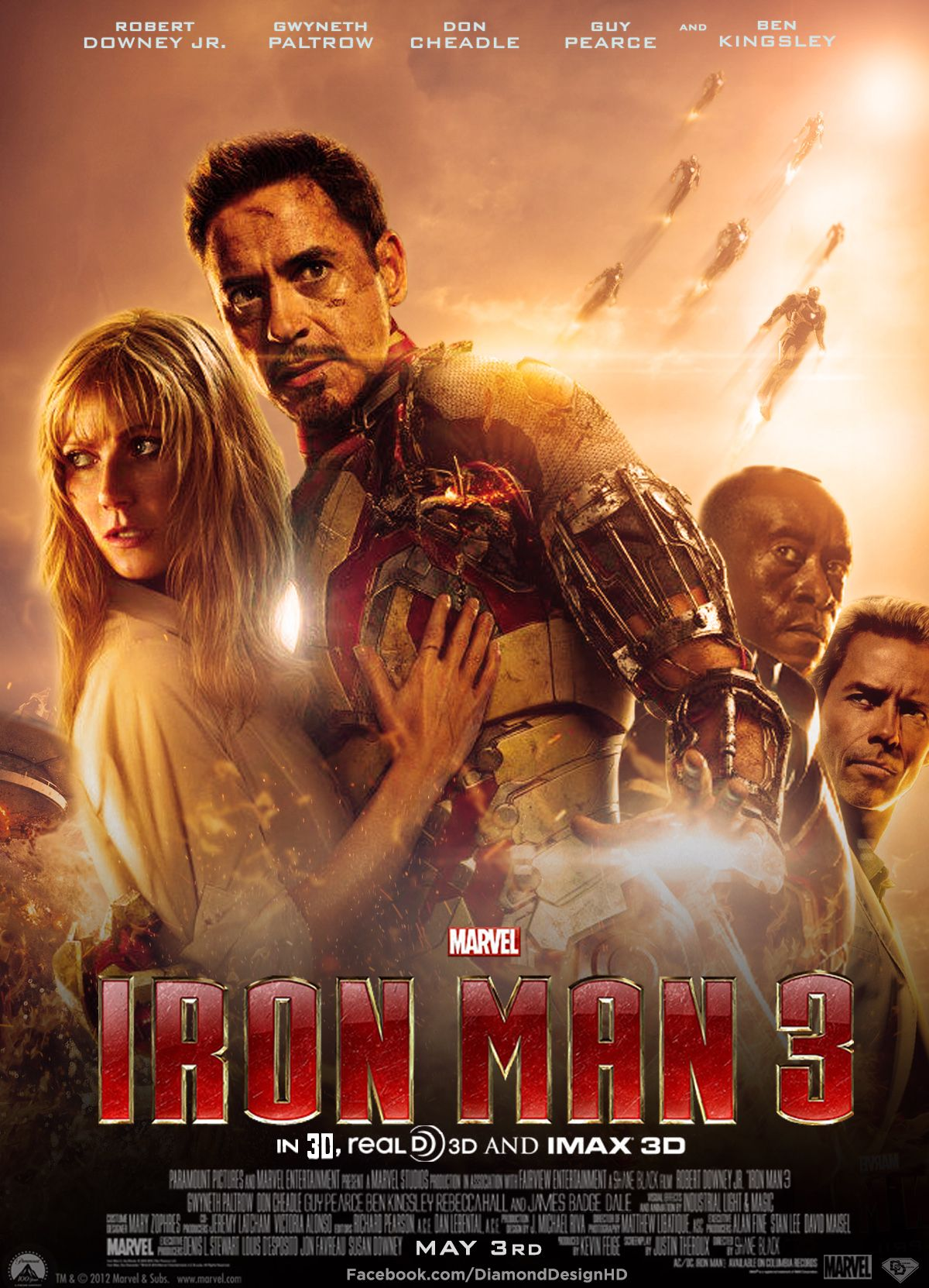 ironman 3 movie posters on Pinterest   18 Pins