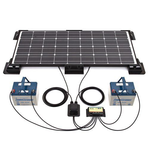 biard panneau solaire photovolta que 100w kit complet. Black Bedroom Furniture Sets. Home Design Ideas