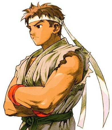 Ryu Anime Street Fighter Art Ryu Street Fighter Street