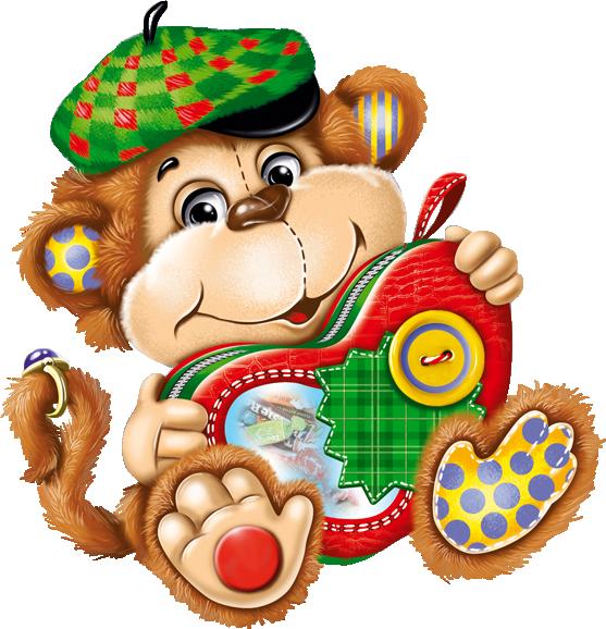 День рождения, картинки открытки с обезьяной