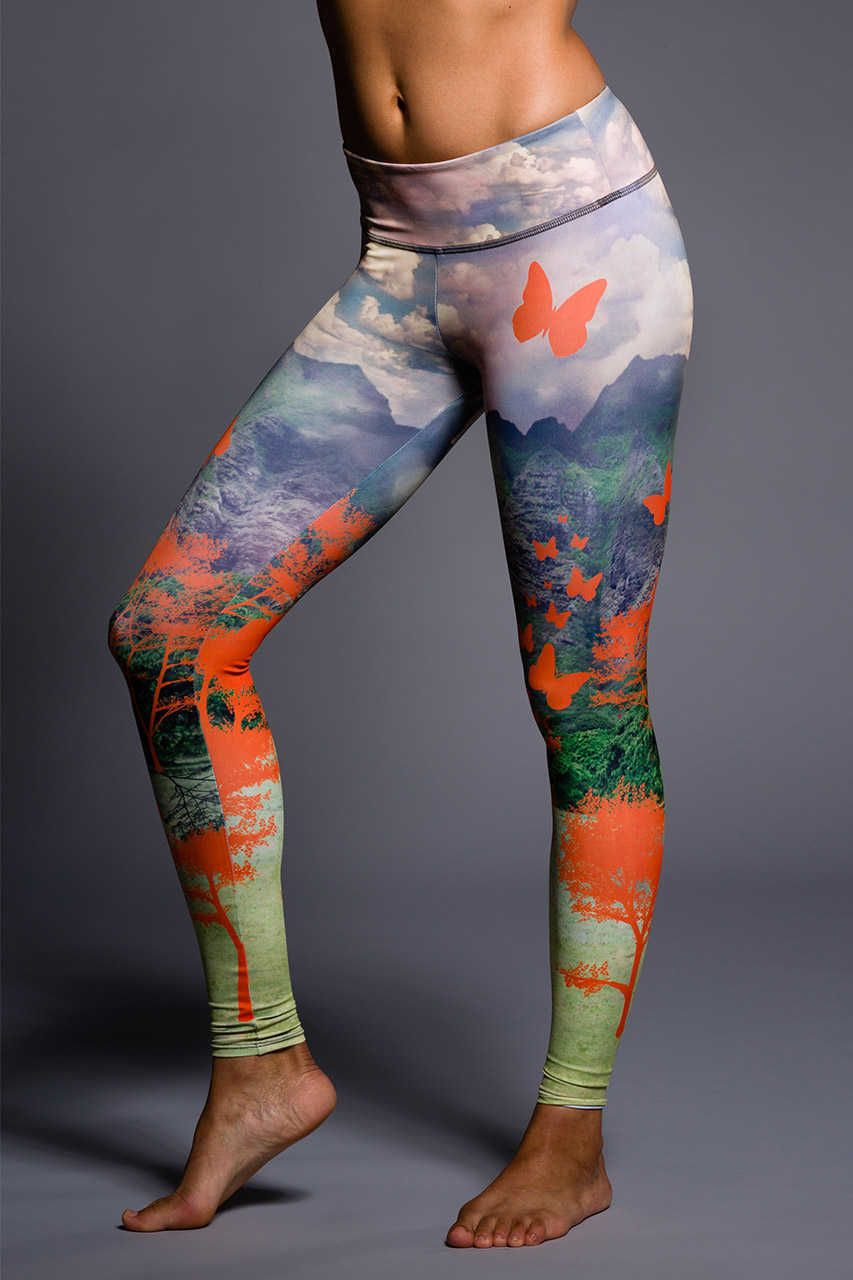 Onzie Graphic Legging - Hot Yoga Clothing, Bikram Yoga Clothes ...