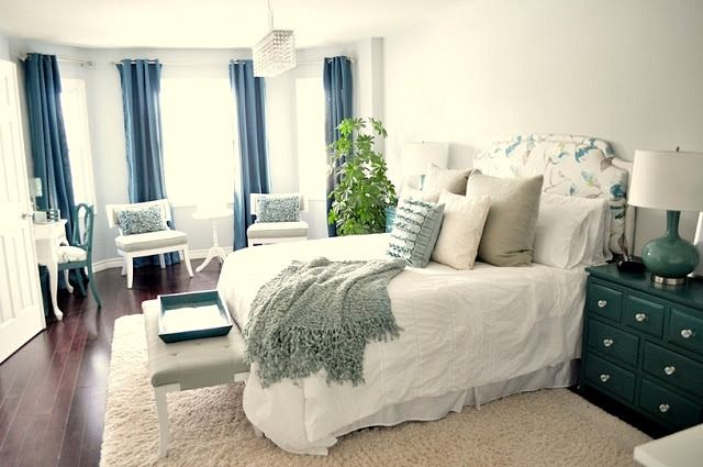 Happily Ever Before U0026 After Week 28: Master Bedroom Makeover Via Living  Beautifully   Love