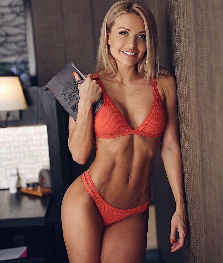 Российские фитнес модели девушки