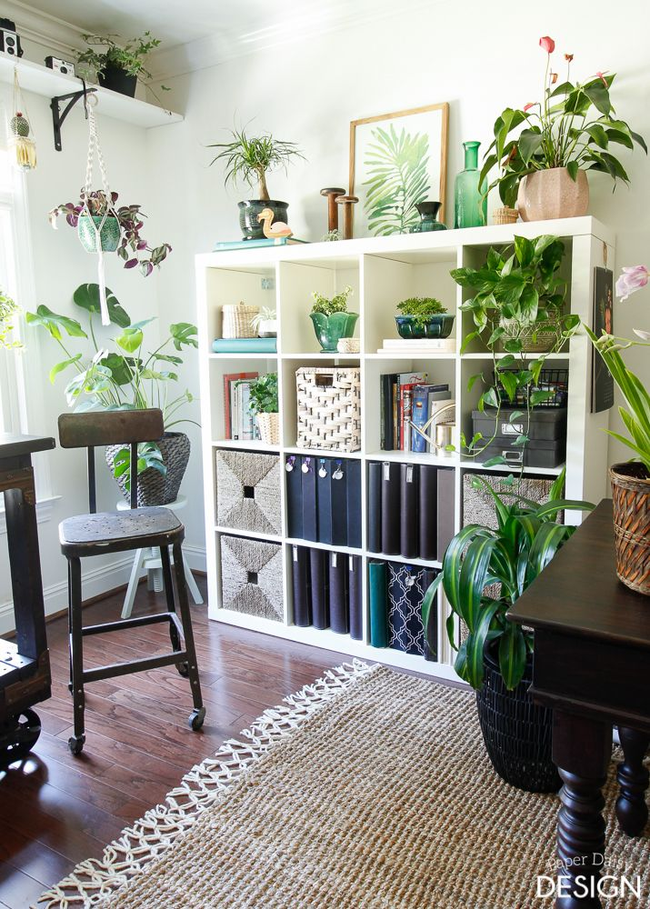 Photo of Bohemian Jungle Studio: One Room Challenge Reveal! | DeeplySouthernHome