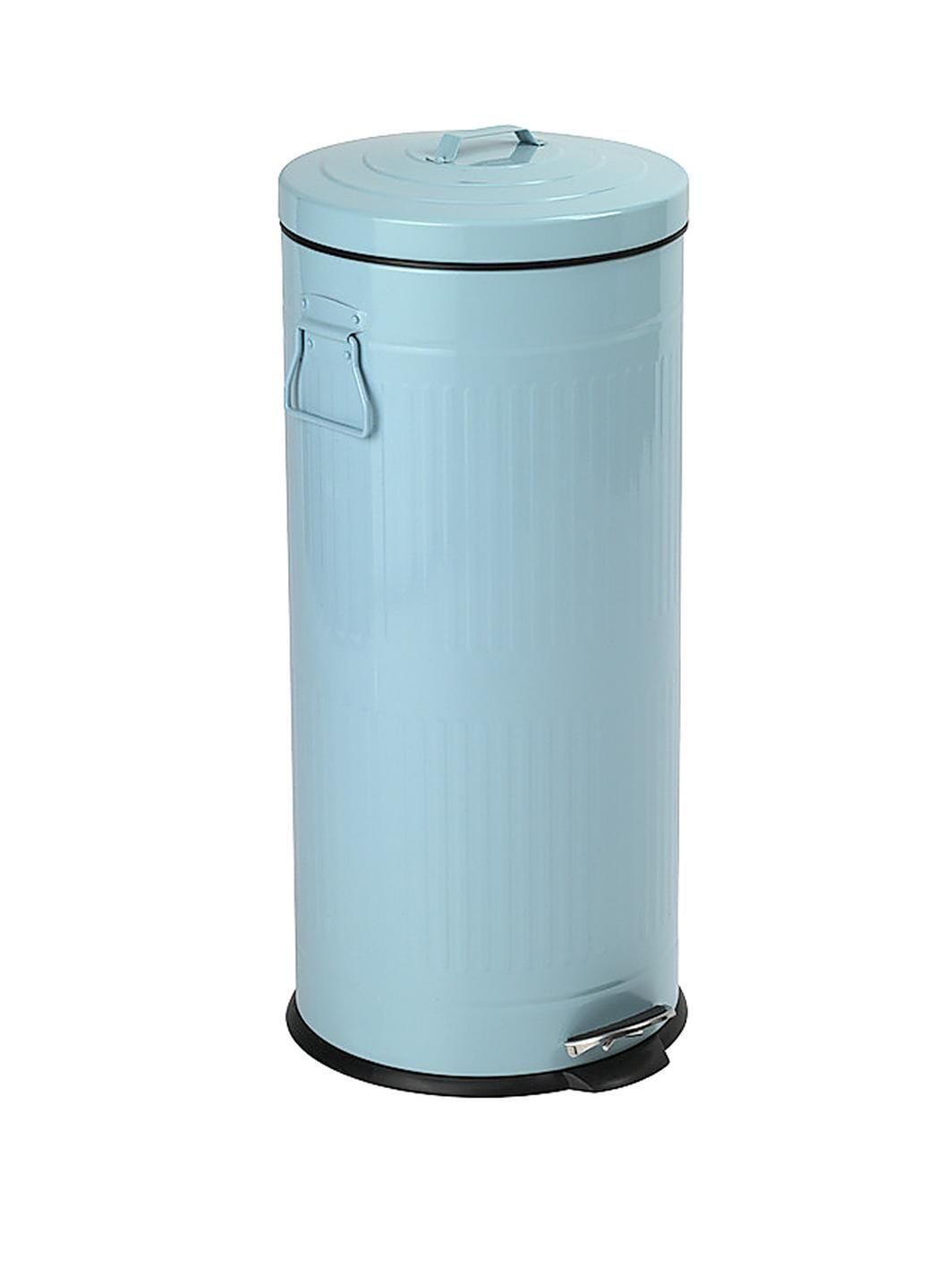 30L Tin Dustbin - Powder Blue, http://www.very.co.uk/swan-30l-tin ...