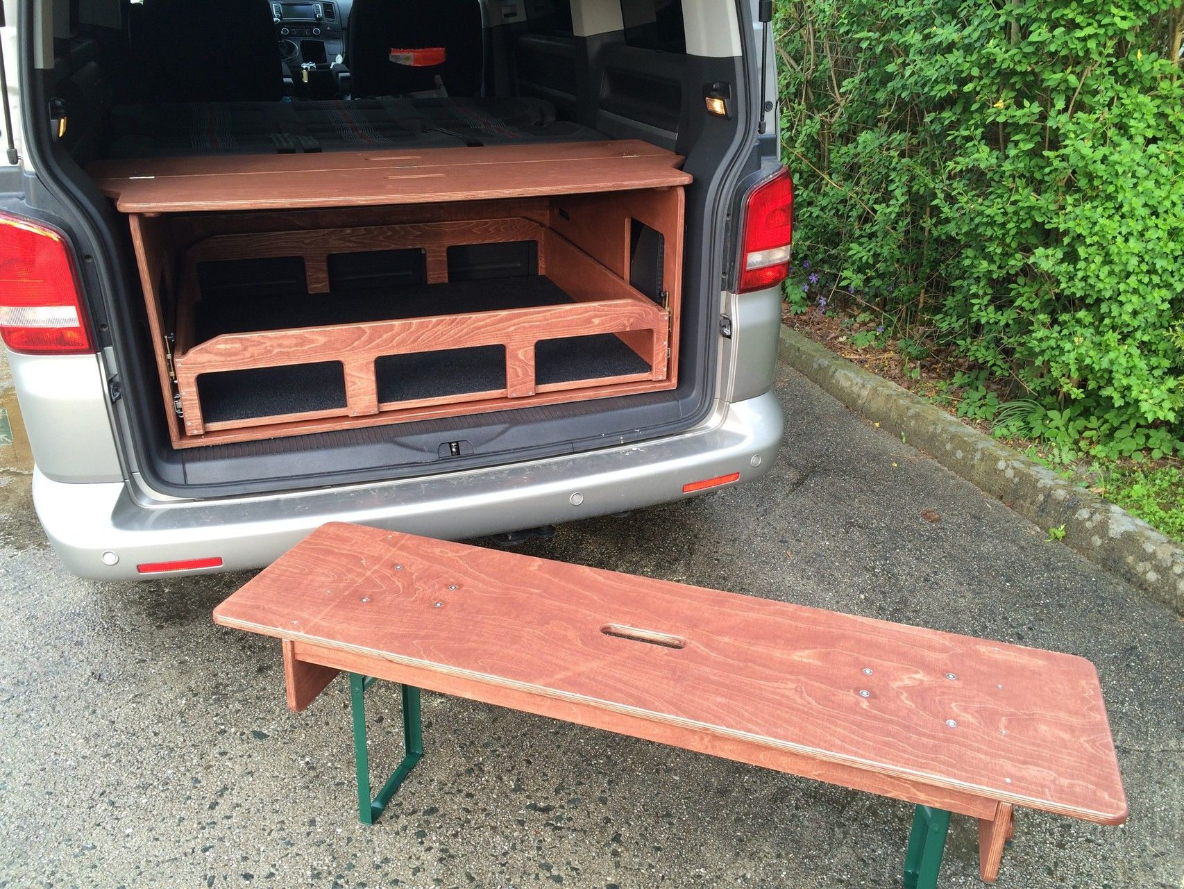 Fahrzeugausbau, Camping, Multiflexboard Alternative, VW T5