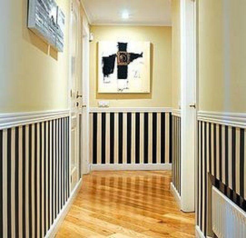 Como pintar pasillo largo estrecho habitaciones for Pintar entrada piso