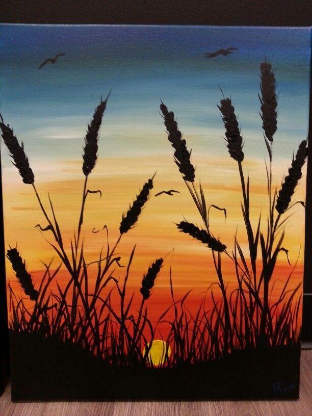 Seagrass Sunset mit Linda bei Cocktails und Farben in Erie, PA mit der moralischen ...  #cock... #projectstotry