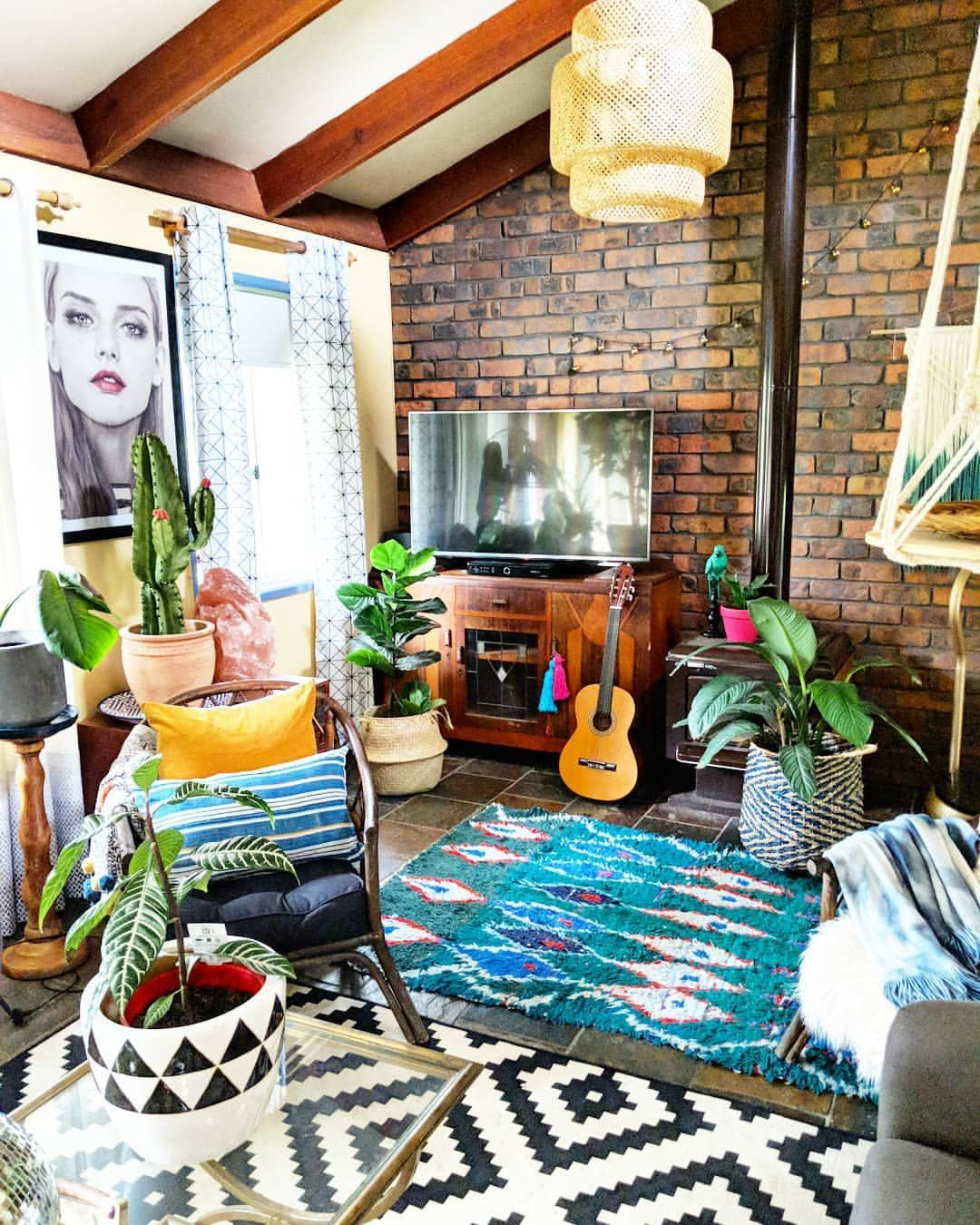 Eclectic Boho Glam Living Room