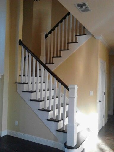 Box Newel Staircase In 2019 Stair Railing Stairs Trim
