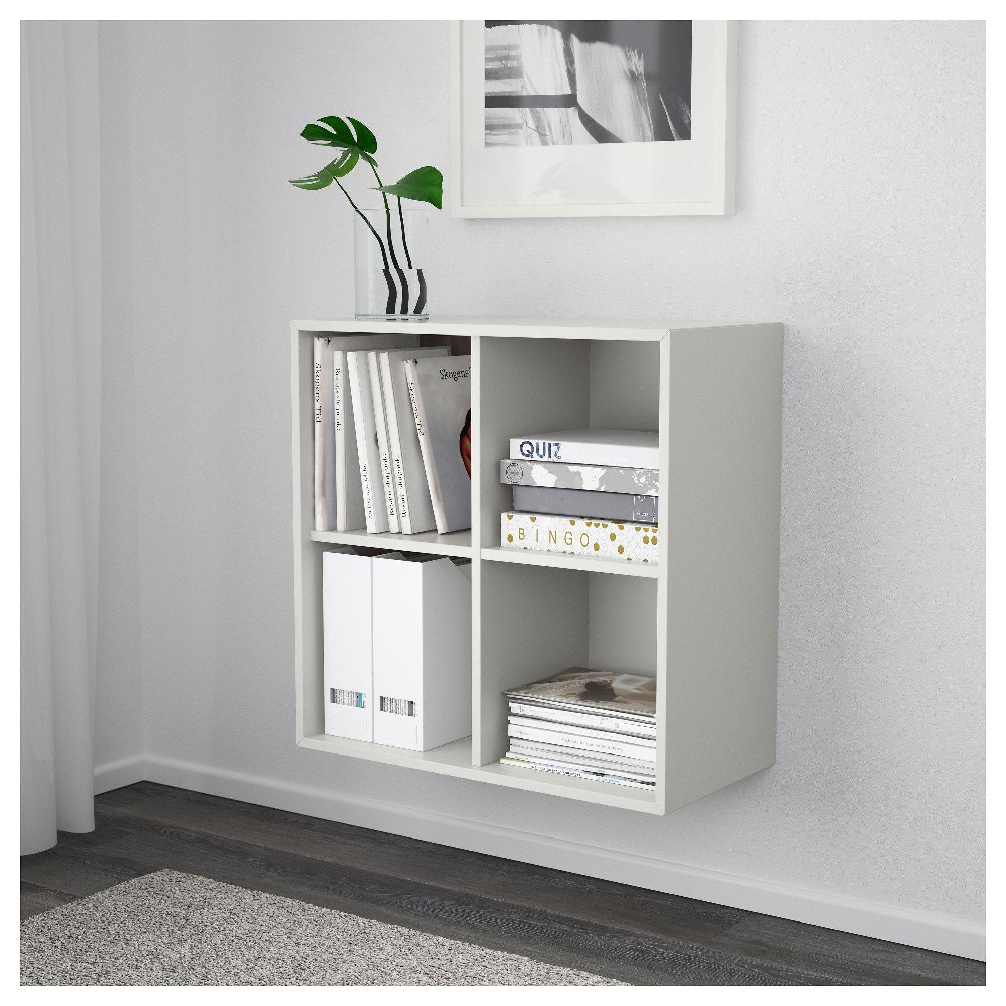 Eket Wall Mounted Shelf Unit Light Gray Ikea