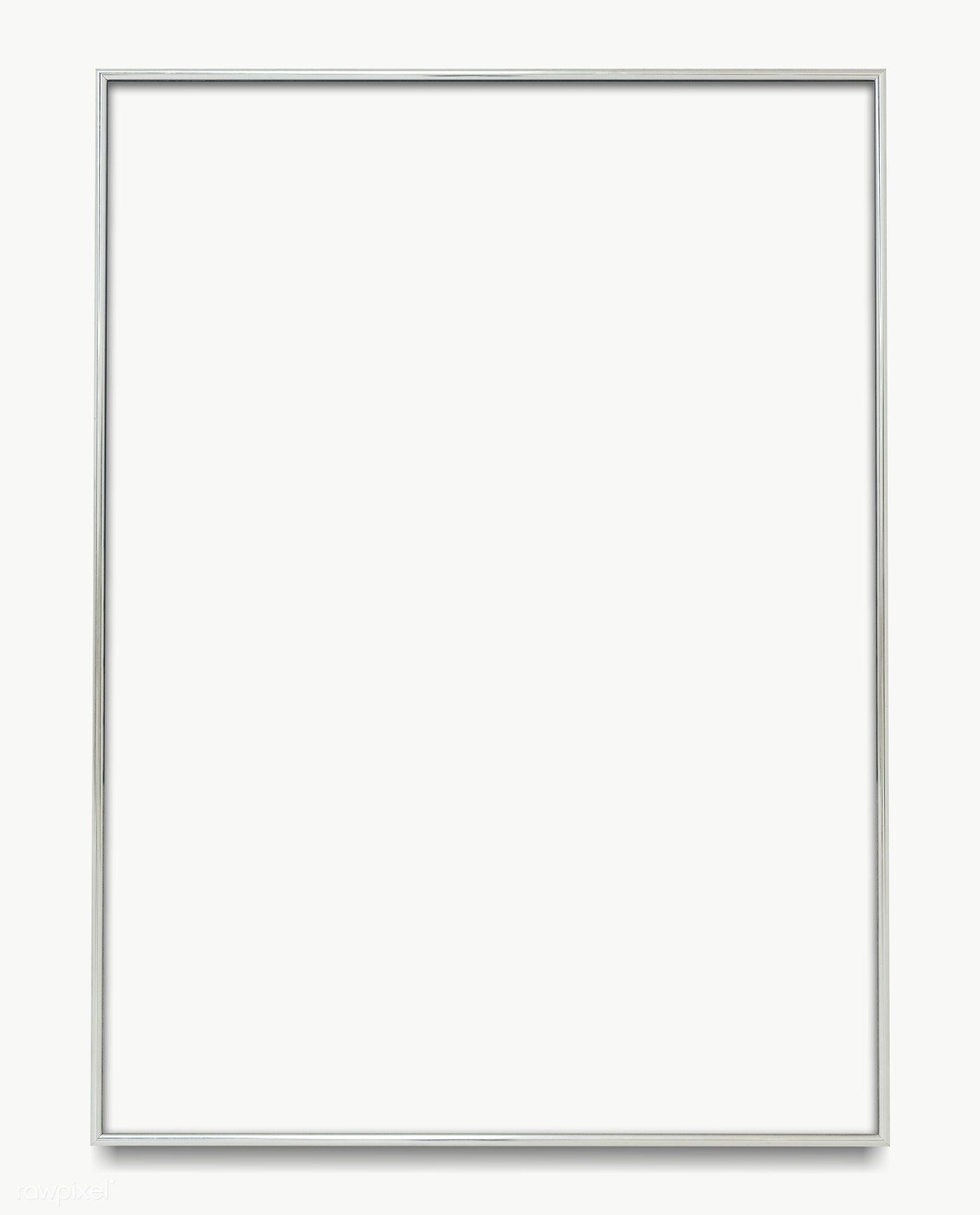 Download Premium Png Of Gray Picture Frame Transparent Png 1230878 Grey Picture Frames Picture Frames Silver Picture Frames
