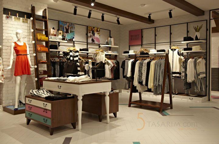 Bayan Giyim Magaza Dekorasyonu Magaza Tasarim Ic Mekan Fikirleri