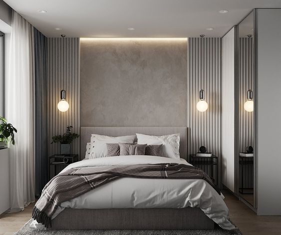 30 Minimalist Bedroom Decor Ideas that are Not Too much but Just Enough - Hike n Dip #Bedroom #bedroomdecoration #bedroomdesign #Decor #Dip #Hike #Ideas