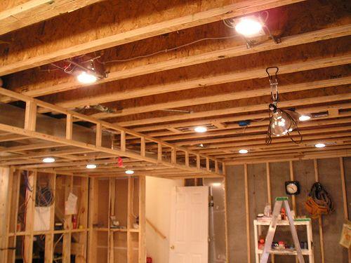 basement lighting - Google zoeken