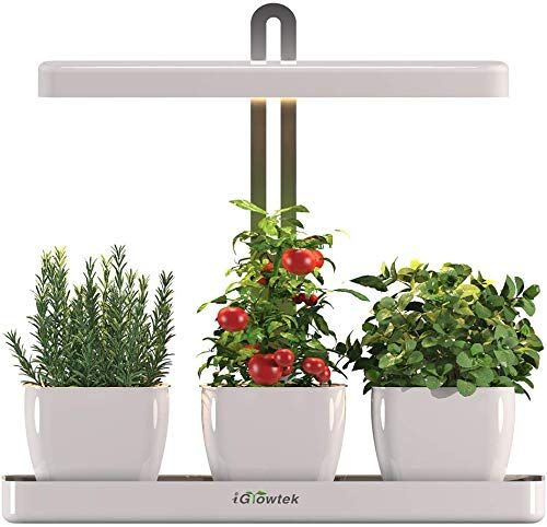 New Igrowtek Indoor Smart Herb Garden Led Grow Light Herb