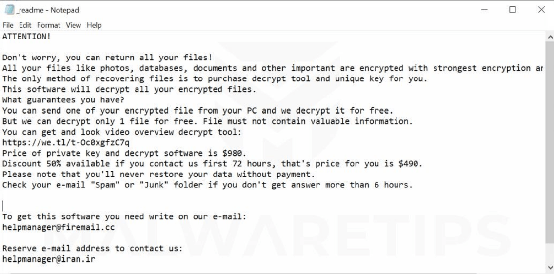 Way To Remove TOPI ransomware and Access Locked Files in
