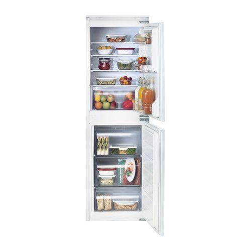 isigt integrated fridge freezer a white 152 109 l. Black Bedroom Furniture Sets. Home Design Ideas