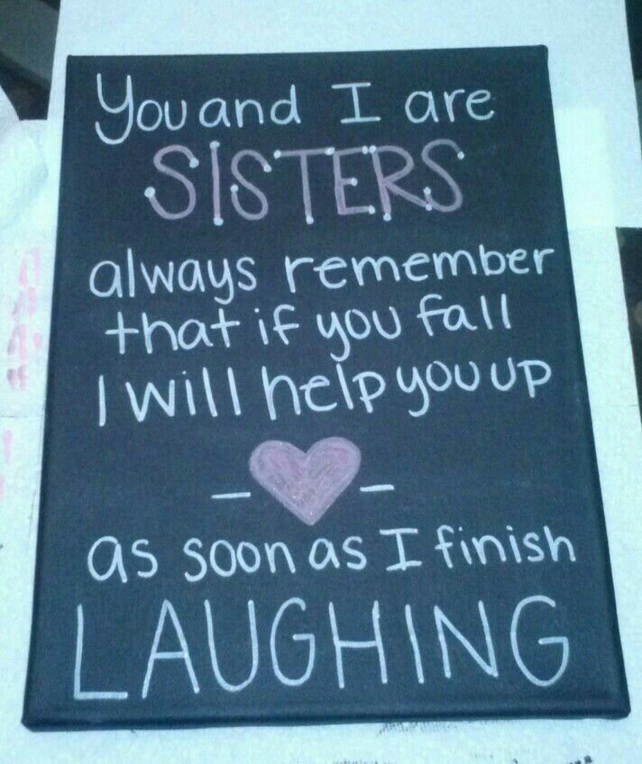 Even Though I Dont Have A Sister