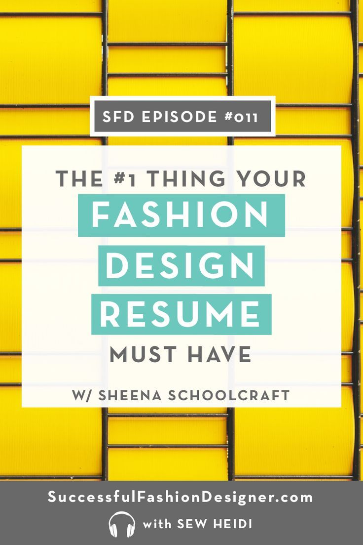 Fashion designer resume what you need to include that no