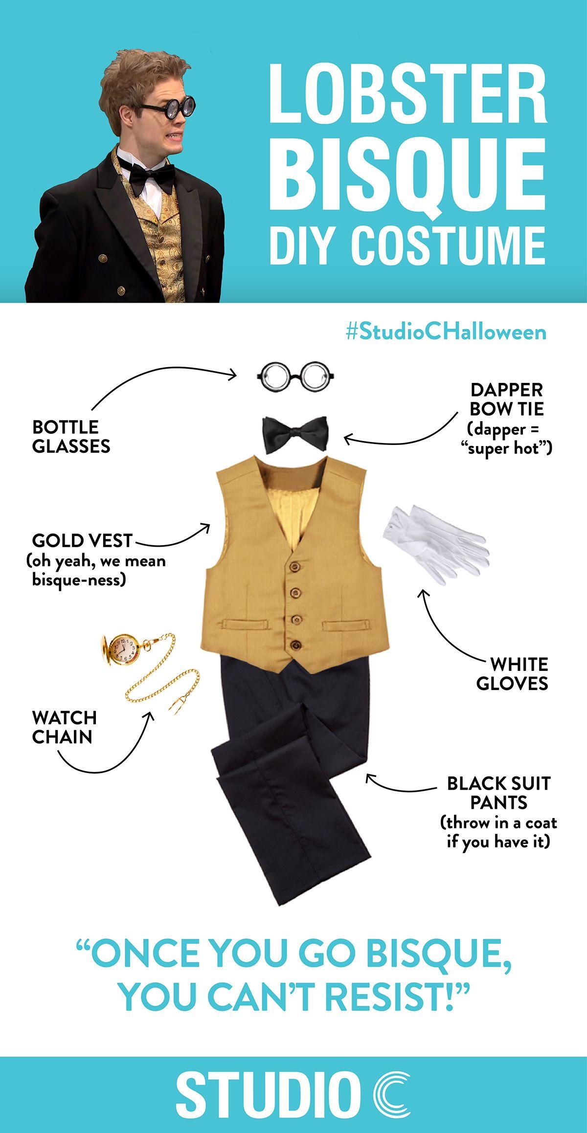 DIY Costume - Lobster Bisque | Studio C | Pinterest | Lobster bisque, Diy costumes and Costumes