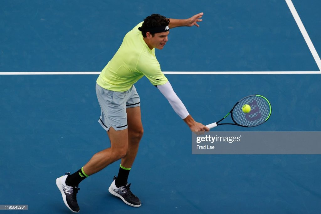 News Photo Milos Raonic Of Canada In Action In His Third Milos Raonic Sites Like Youtube Paying Ads