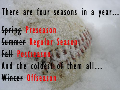 Four seasons in a year...