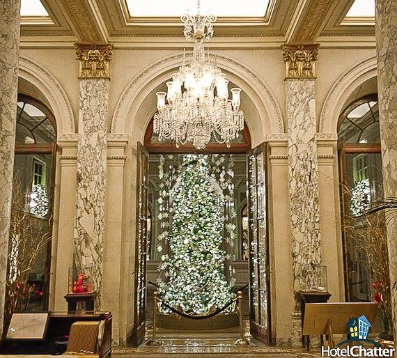 The Plaza Hotel | Plaza hotel, New york christmas, Vintage ...