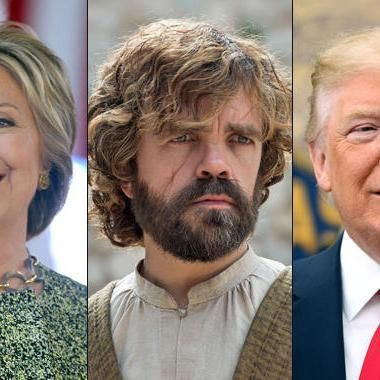 Hot: Americans would rather have Tyrion as President over Clinton Trump      S…