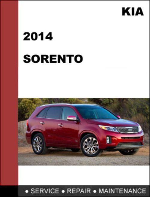 Kia Sorento 2014 2.4l 3.3l Service Factory Repair