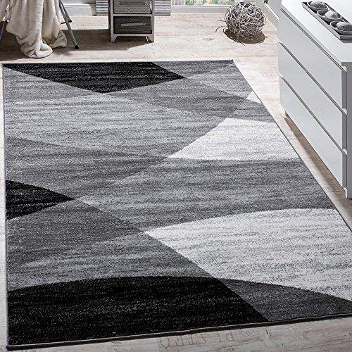 Designer Teppich Modern Geschwungene Wellen Linien Muster Kurzflor Meliert Grau, Grösse:160x220 cm, http://www.amazon.de/dp/B01MAVRECH/ref=cm_sw_r_pi_awdl_xs_00clybP7W0PW4