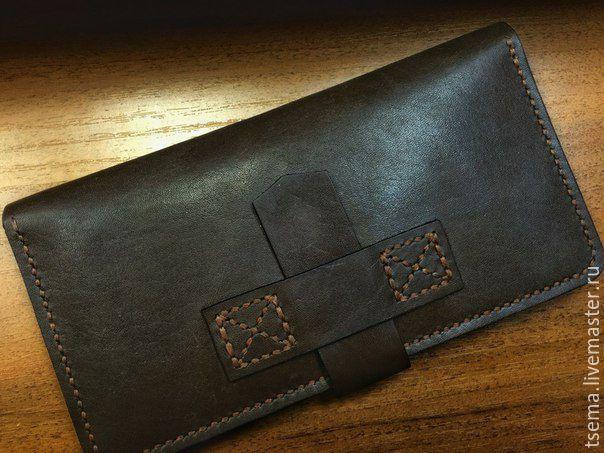 28cf80f719db Купить портмоне - коричневый, натуральная кожа, портмоне, портмоне мужское, портмоне  женское,