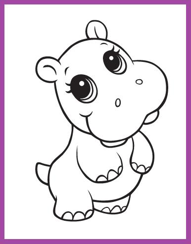 Resultado de imagen para dibujos de animales faciles m E a encontrar ...