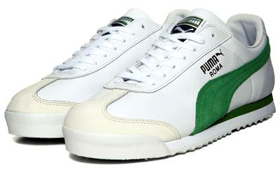 58393a18e6963c Retro To Go  Puma Roma Classic trainers reissued in white and green
