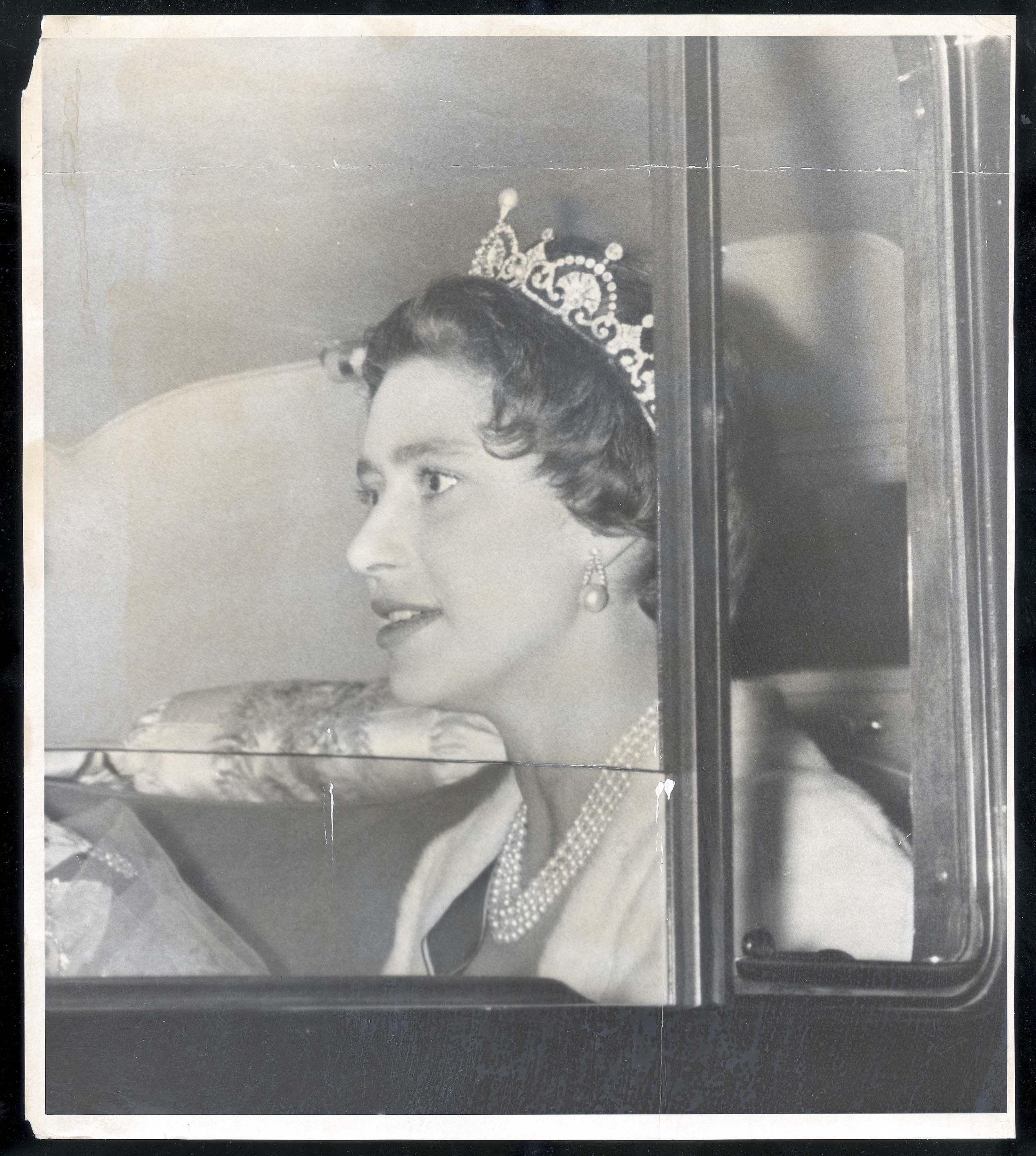Princess Margaret With The Lotus Flower Tiara British Royal