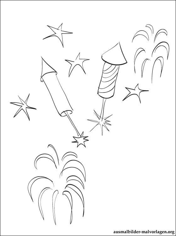 Feuerwerk Malvorlagen Feuerwerk Ausmalbild Zum Ausdrucken Ausmalbilder Kostenlos Und Ideen