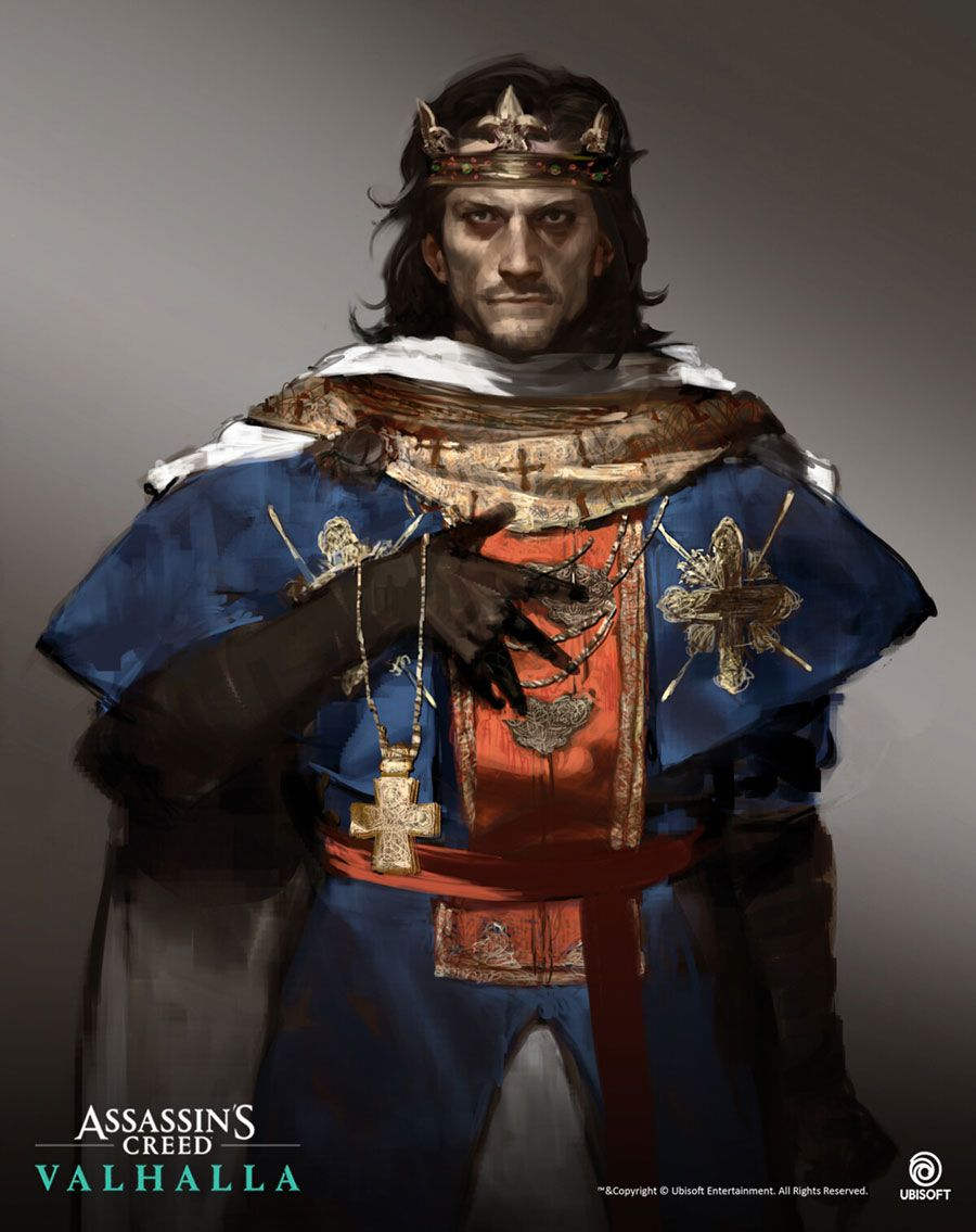 King Alfred Concept Artwork Assassin S Creed Valhalla Art Gallery Assassins Creed Artwork Assassins Creed Series Assassins Creed