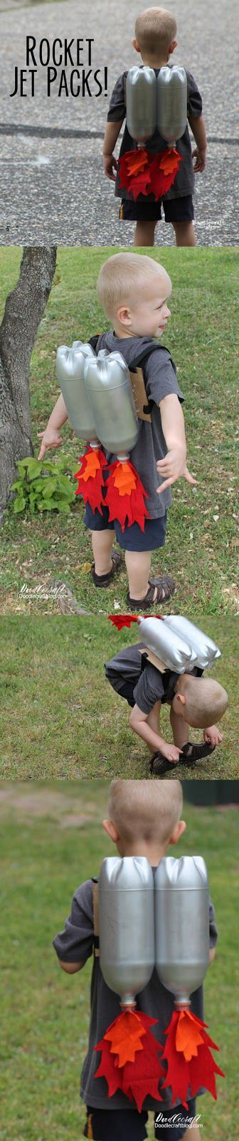 Rocket Jet Pack Craft For Kids Great For Little Imaginations Space