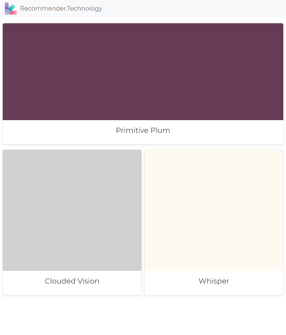 Clouded Vision Paint Dunn