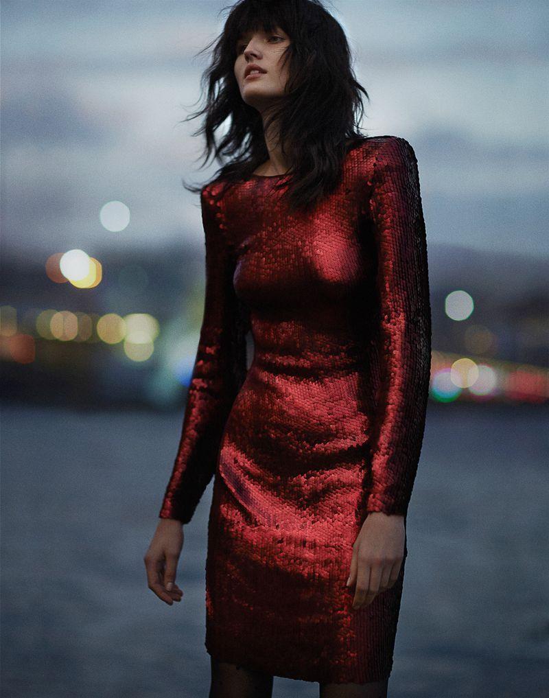 #Vogue #Turkey December 2015 – Katlin Aas by Emma Tempest