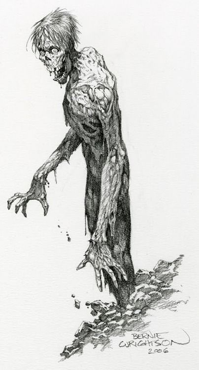Character Design Zombie : By bernie wrightson ★ character design references